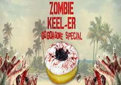how about a zombie keel er donut