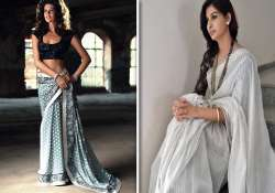 make a statement with hand woven saris