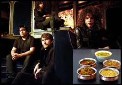 wolfmother bandmates in love with indian food see pics