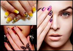 splash colours on your nails in creative way