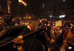 as crowds swell in cairo military in crisis talks