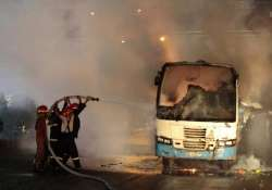blasts arrests mark bangladesh general strike