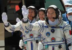 china s first woman astronaut successfully soars into space