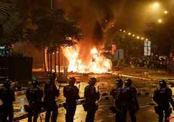 driver in accident behind singapore riots not criminally