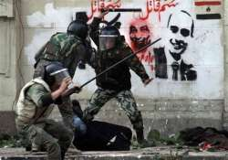 egypt military uses heavy hand in crushing protest