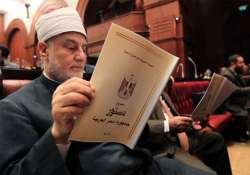 egyptian voters approve new constitution drafted by