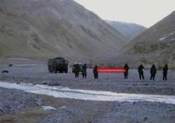 in a first chinese military acknowledges 2013 ladakh