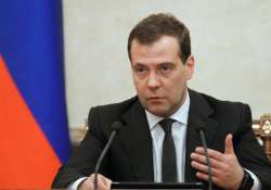 russia at risk of deep recession says medvedev