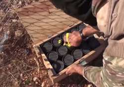 us confirms one cache of arms fell in hands of is