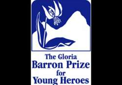 indian american receives gloria barron prize for young