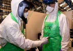 britain holds national exercise to test ebola preparedness