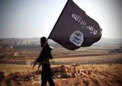 police arrest two alleged terrorists with is flag in sydney