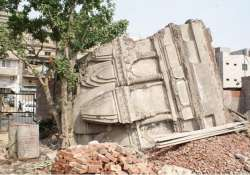 violating lhc s order ancient jain temple demolished in