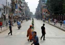 strike called by opposition parties cripples nepal s capital