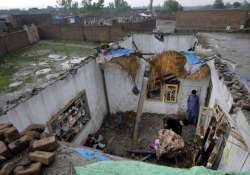death toll from pakistan storm rises to 45