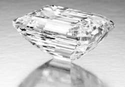 100 carat classic emerald cut diamond coming to auction