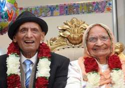 world s oldest married couple with total age of 211