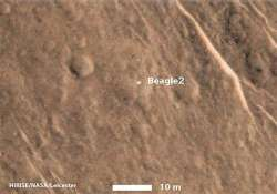 missing lander beagle 2 finally located on mars agency says