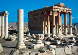 isis blows up ancient temple in syria