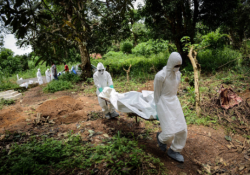 who outlines safe burial protocol for ebola victims