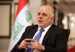 iraqi pm favours resolving disputes with kurds for