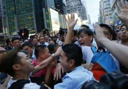 protests in hong kong after government calls off talks