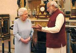 queen elizabeth ii hosts lunch for modi at buckingham palace