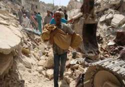 more than 230 000 killed since 2011 in syria conflict