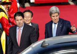 john kerry in south korea to talk security cyber issues