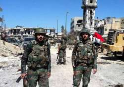 syrian army captures key town in southern region