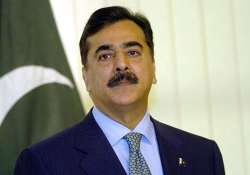 former pakistan pm gilani speaks to son abducted 2 years ago