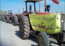 iran farmers clash with police over water rights