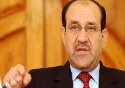 iraq pm warns against exploiting militant offensive