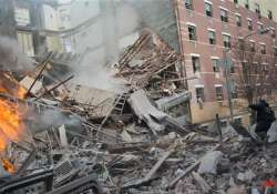 2 nyc buildings collapse 2 dead others missing