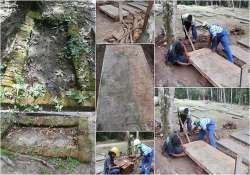 new evidence of indentured indians mass graves in suriname