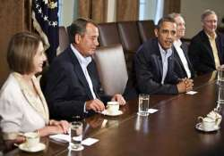 obama meets congressional leaders but no deal
