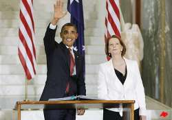 obama supports gillard s decision to sell uranium to india