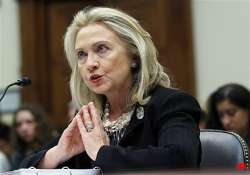 pak asked to join us in squeezing haqqani network clinton