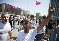 park at the centre of turkish protests reopened