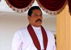 rajapaksa in uk row over human rights