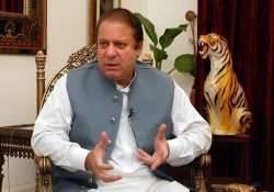 sharif says pakistan wants strong relations with india
