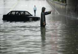 six dead 420 000 affected by rain in china
