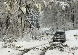 snowstorm knocks out us northeast millions without power