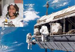 spacewalking team takes another shot at stiff bolt