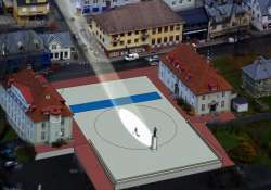 sunlight to be beamed onto norwegian town square
