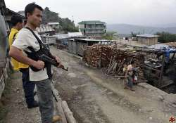 thai man arrested for supplying arms to naga rebels