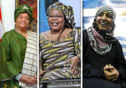 three women win nobel peace prize jointly