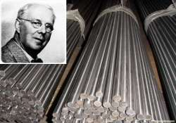today in history invention of stainless steel by harry