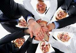 top level teamwork keeps firms buoyant cheerful
