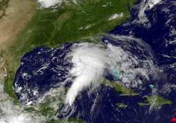 tropical storm debby forms in the gulf